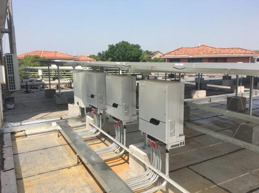 昆山100KW工业屋顶光伏示范项目