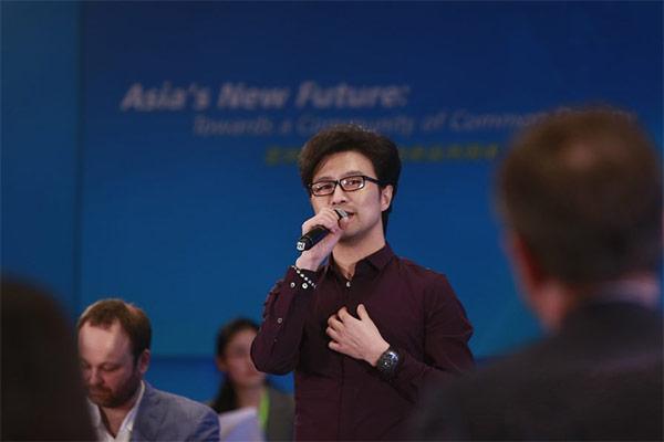 FIIL董事长汪峰作为创业者受邀参加博鳌亚洲论坛2017年年会