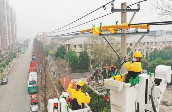 抗疫保电,他们冲锋在前——记国家电网安徽电力(蚌埠禹风)共产党员服务队