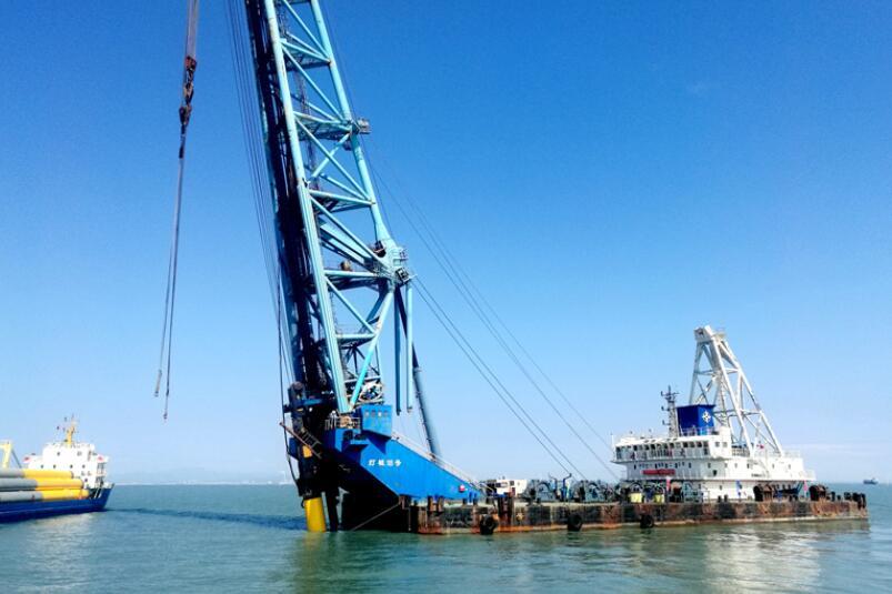 莆田石城海上风电项目加速推进