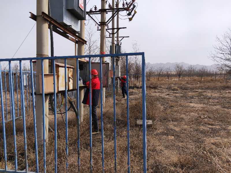 乌海电业局千里山农电所:做好线路普查工作,确保供电安全