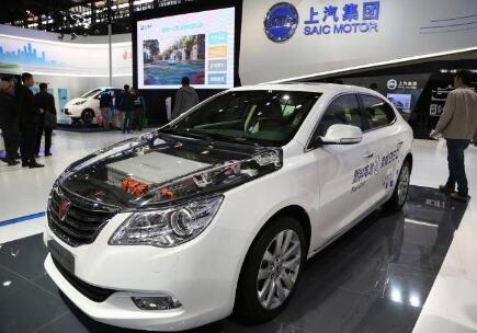 上汽集团氢燃料电池项目开启 预计实现产值12亿元