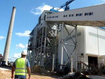 古巴首个生物质电厂完成并网发电调试工作