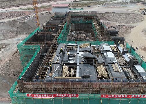新疆夏特水电站实现全面复工复产