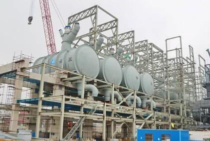 金能科技新材料与氢能源综合利用项目顺利复工