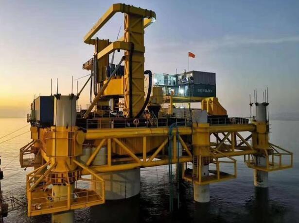 中交天和新型海上风电嵌岩钻机问世 填补一项空白