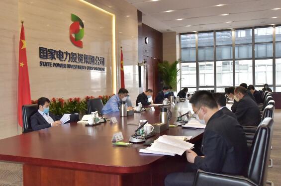 国家电投党组成员、副总经理、总会计师杨亚到资本控股调研