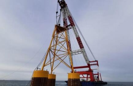 华能山东301.6MW海上风电项目启动