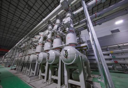乌东德水电站升压设备已具备并网调试条件