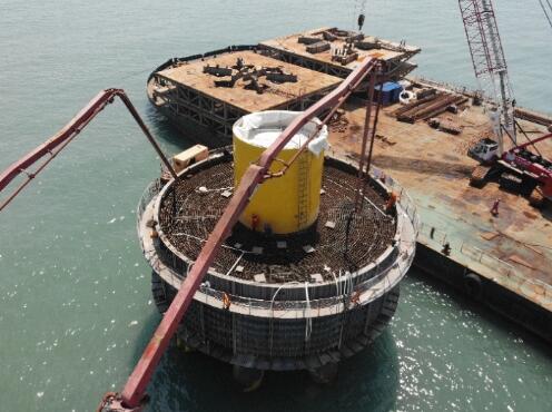 国内首个7兆瓦海上风电项目主体工程完工