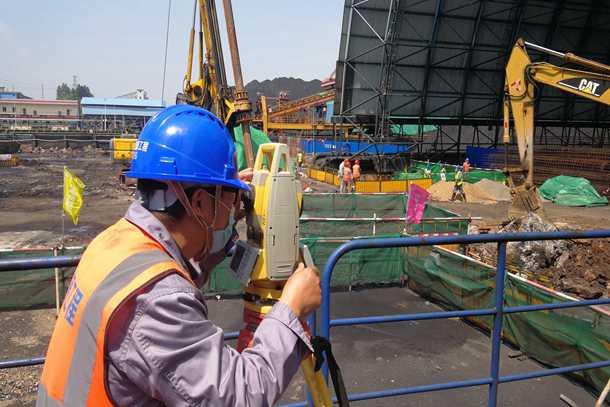 国家能源集团丰城发电公司煤场全封闭改造项目正式复工
