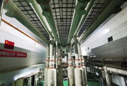乌东德水电站工程升压设备耐压试验一次通过