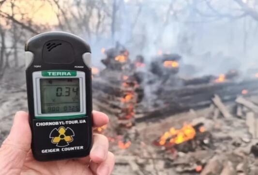 切尔诺贝利大火 辐射指数暴涨16倍
