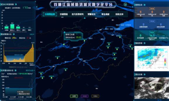 中国电建开发的浙江首个数字化流域平台2.0版正式发布