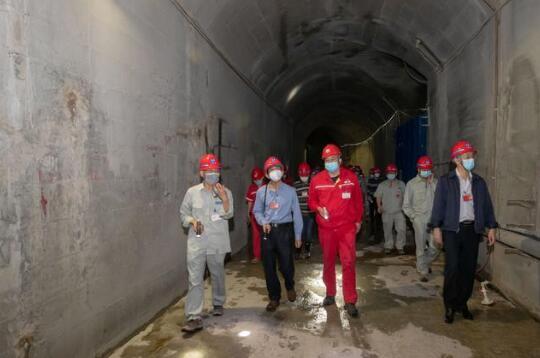 乌东德水电站完成第二阶段蓄水质量监督检查