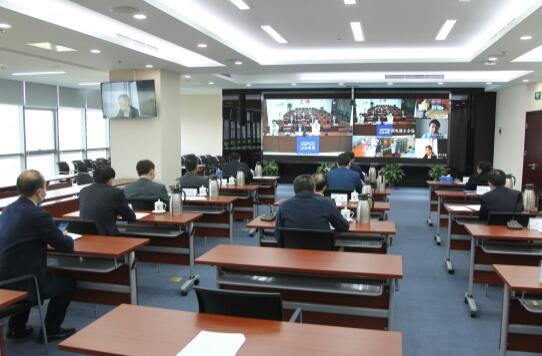 晏志勇视频巡检境外项目疫情防控工作