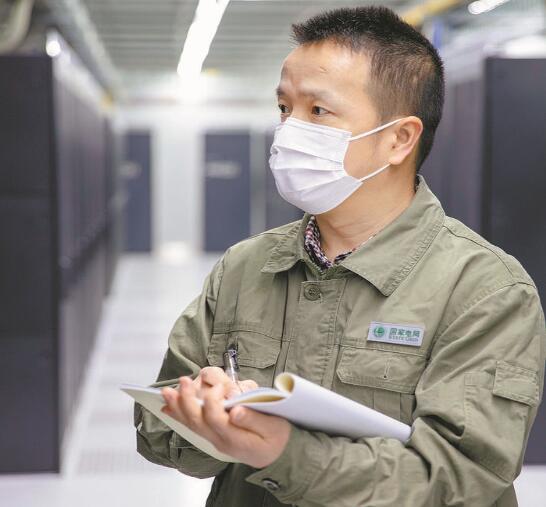 关键时刻顶得上 带队奋战第一线——记湖北鄂州供电公司信息通信分公司运检一班班长吴青