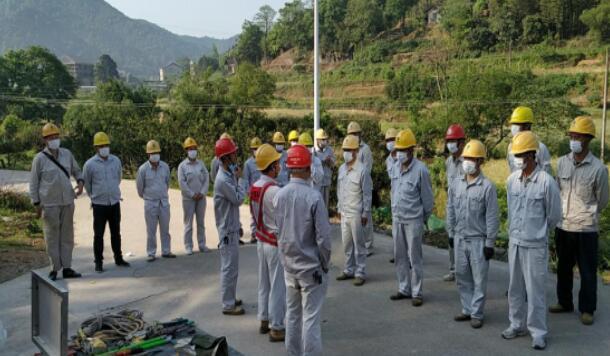 中方县供电公司:积极开展现场培训 不断提升员工技能水平