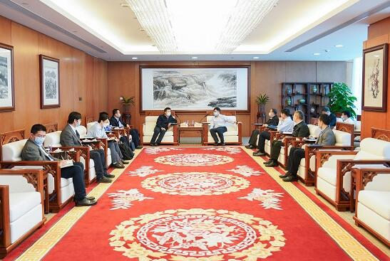 华能集团有限公司总经理、党组副书记邓建玲会见电力规划设计总院院长杜忠明