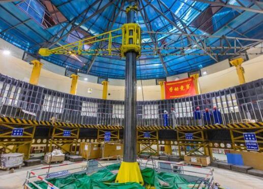 世界首台百万千瓦水电机组定子铁心一次性通过磁化试验
