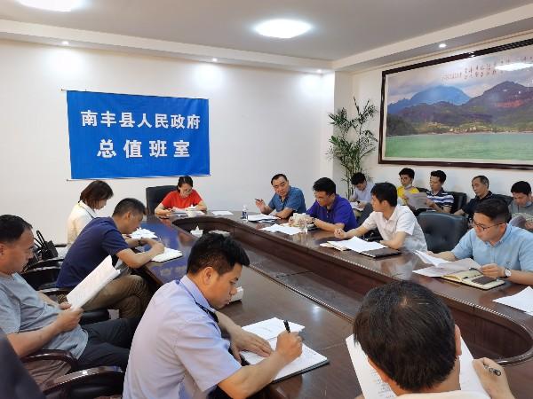 国网南丰县供电公司助力抚州南广500千伏输变电工程推进