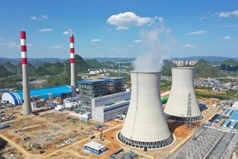 贵州兴义煤电铝一体化产业动力车间投产