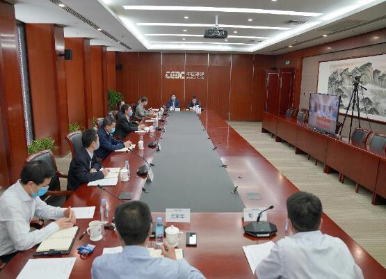 中国能建总经理、党委副书记孙洪水对公司部分直属企业进行调研