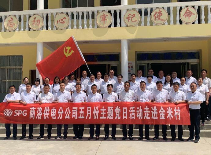 陕西地方电力镇安县供电分公司:强化党建引领,助推脱贫攻坚工作