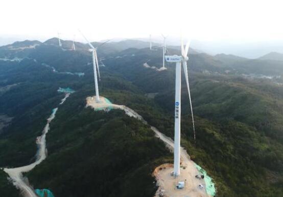 三峡新能源在闽首个陆上风电场机组全部并网