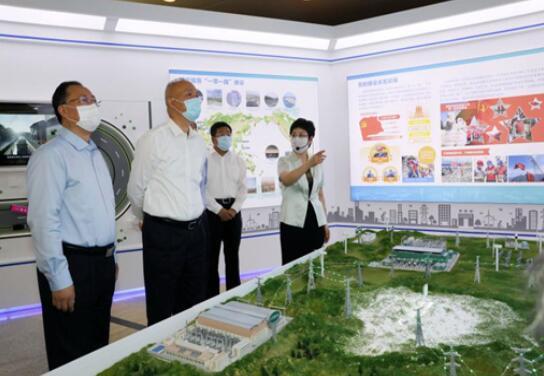 中共中央政治局委员、北京市委书记蔡奇到国家电网公司调研