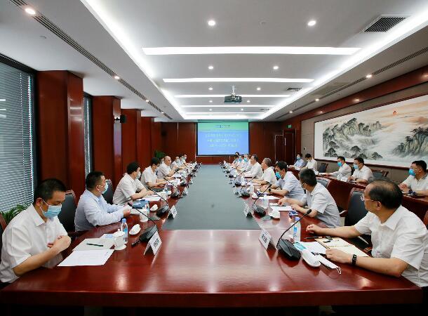 中国能建与中国安能深化合作