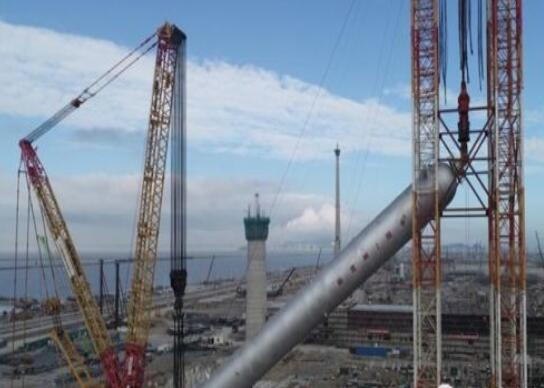 """""""大国重器-中石化世界最大的加氢反应器安装完成"""""""