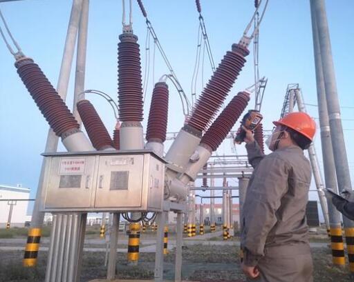 龙源电力新疆哈巴河风电场全面部署备战迎峰度夏