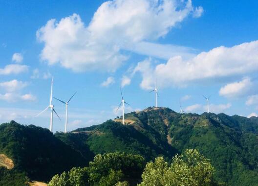 大唐卢氏石牛岭风电场22台风机全部并网