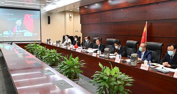 章建华出席国际能源署清洁能源转型峰会会议并发言