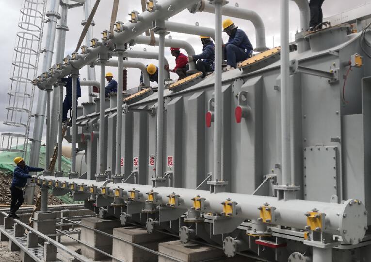 中国安能第二工程局承建阿里联网西藏巴尔变电站全面进入安装阶段