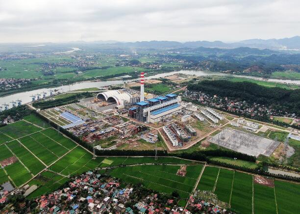 越南海阳燃煤电厂1号机组启动整套试运行