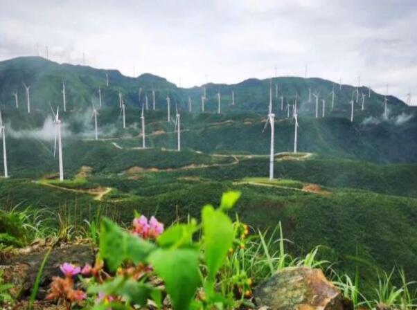 我国南方最大高山风电场群投运