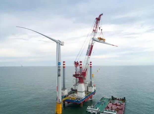 江苏如东海上风电项目全面推进