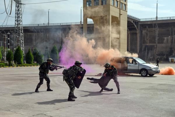 国网刘家峡水电厂组织开展2020年反恐处突应急演练