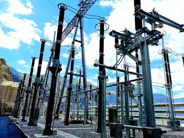乌东德水电站6回电力送出线路全部正式投运
