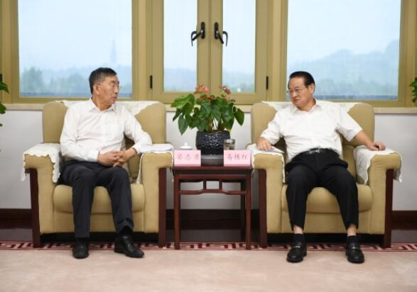 晏志勇拜会江西省委副书记、省长易炼红