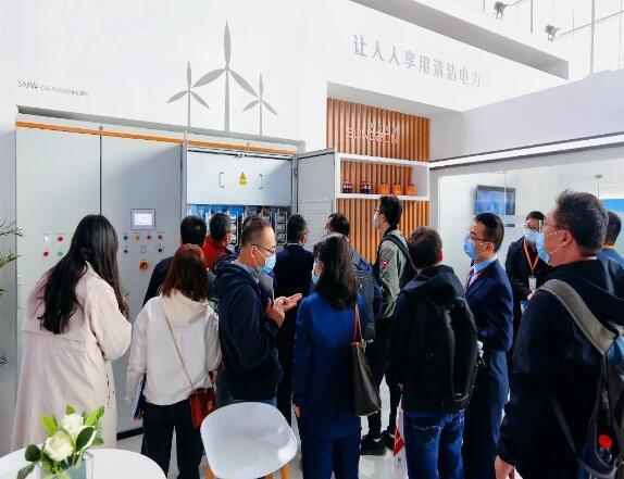 阳光电源亮相2020北京风能展