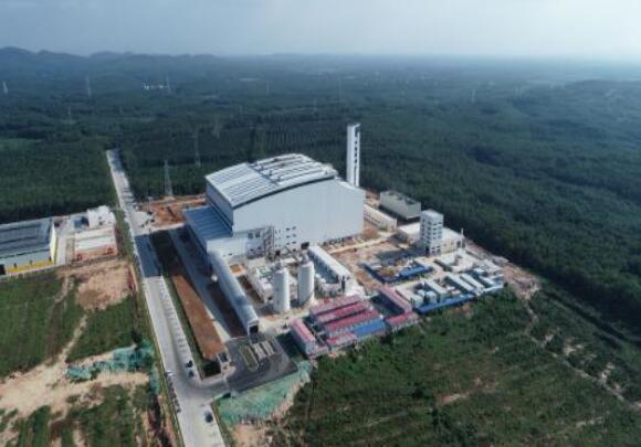 海南儋州生活垃圾焚烧发电项目投运 年发电量超亿度