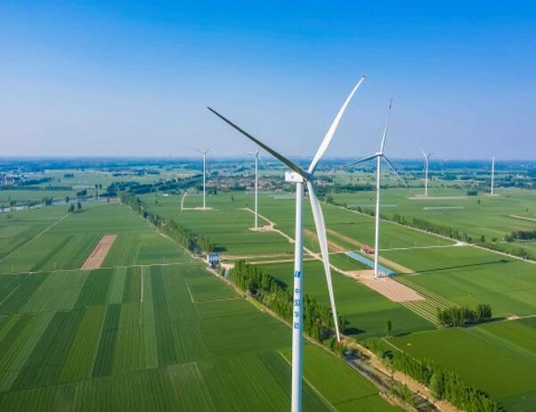 华能濮阳一期50万千瓦风电项目全容量投产