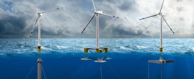 DNV GL发布首个海上漂浮式风电装置入级新规范