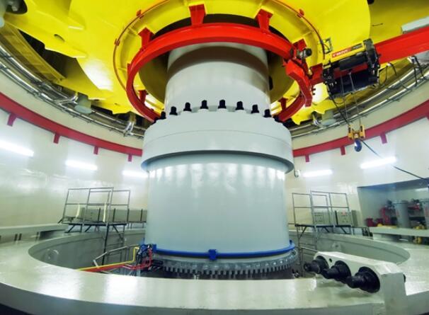 乌东德水电9号机组进入72小时试运行