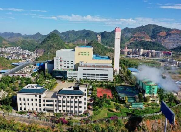 贵州黔西南义龙新区垃圾发电厂日处理垃圾达1200吨