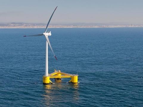 到2050年全球漂浮式风电装机容量有望增至250GW