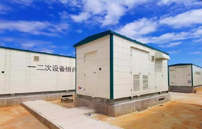 冀北电网第一个电网侧电化学储能项目通过验收